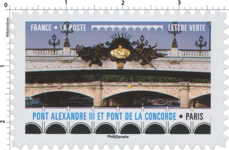 2017 Pont Alexandre III et Pont de la Concorde - Paris