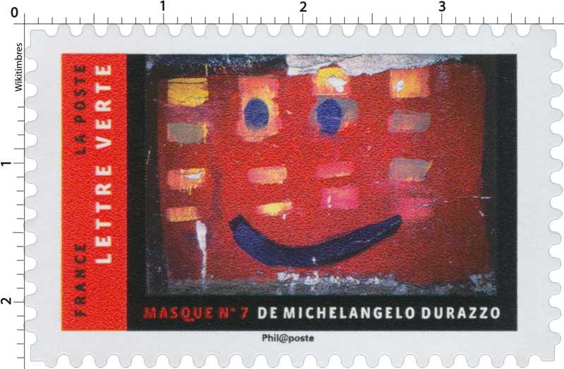 2017 MASQUE N°7 DE MICHELANGELO DURAZZO