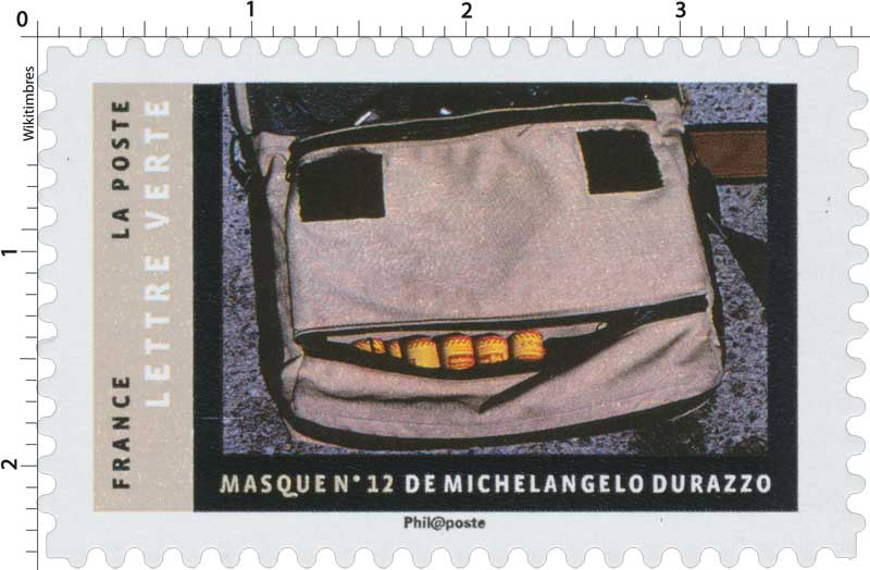 2017 MASQUE N°12 DE MICHELANGELO DURAZZO