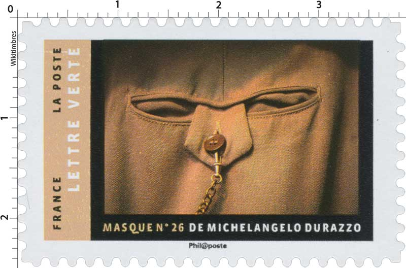 2017 MASQUE N°26 DE MICHELANGELO DURAZZO