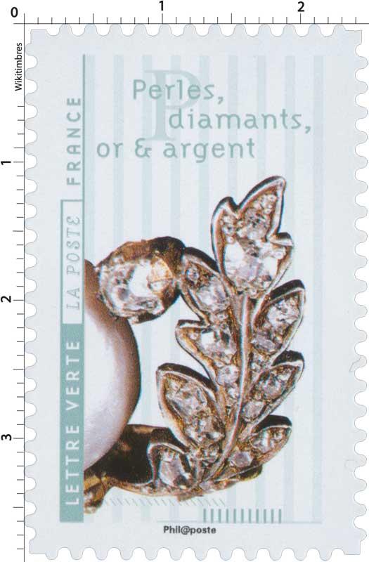 2017 Perles, diamant, or et argent