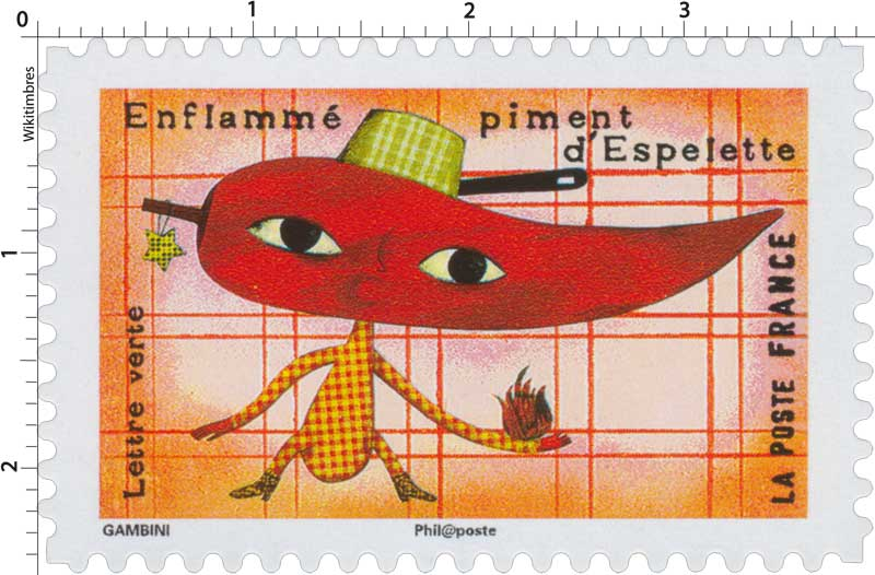 2017 Enflammé piment s'Espelette