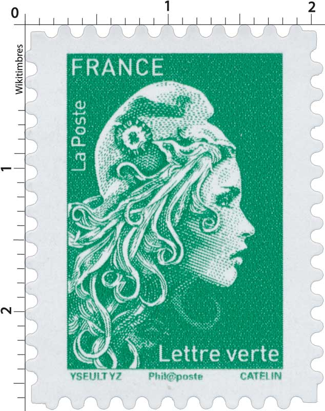 2018 Type Marianne l'engagée d'Yseult