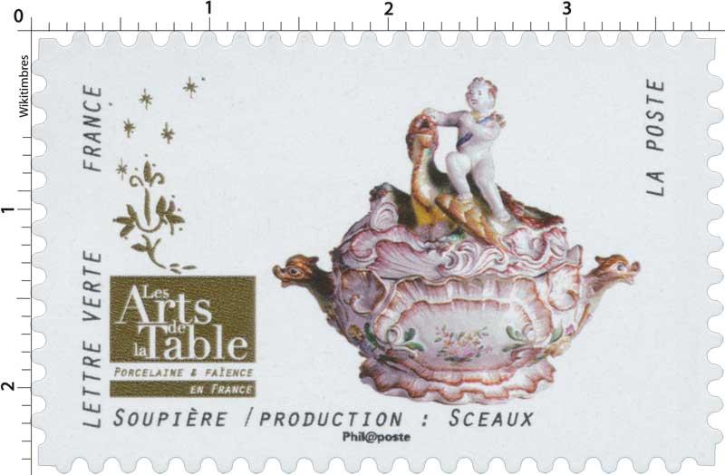 2018 Les Arts de la Table -  Porcelaine & Faïence - En France - Soupière / Production: Sceaux