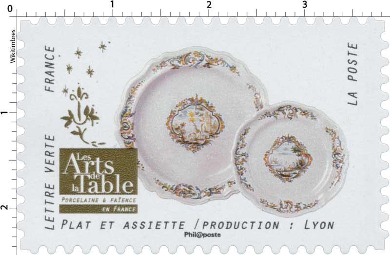 2018 Les Arts de la Table -  Porcelaine & Faïence - En France - Plat et assiette / Production: Lyon
