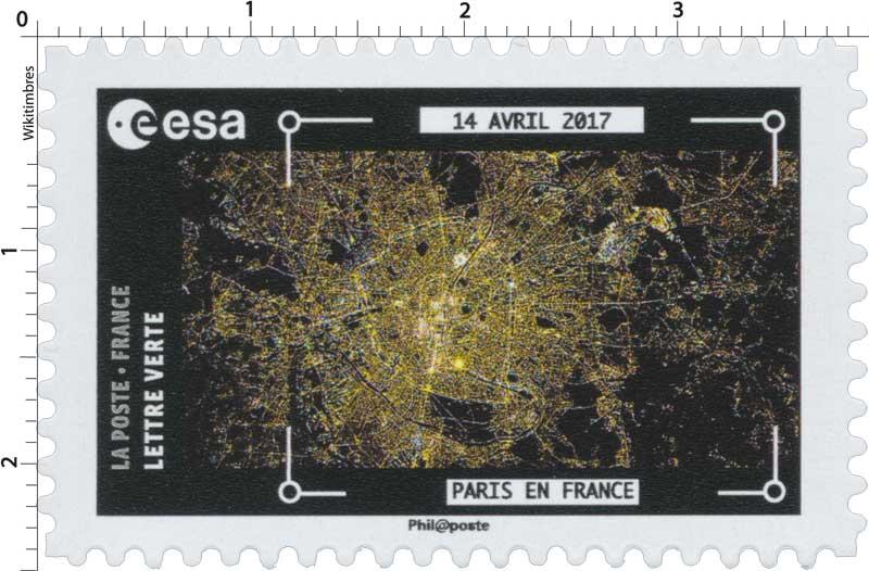 2018  ESA - 14 Avril 2017 - Paris en France