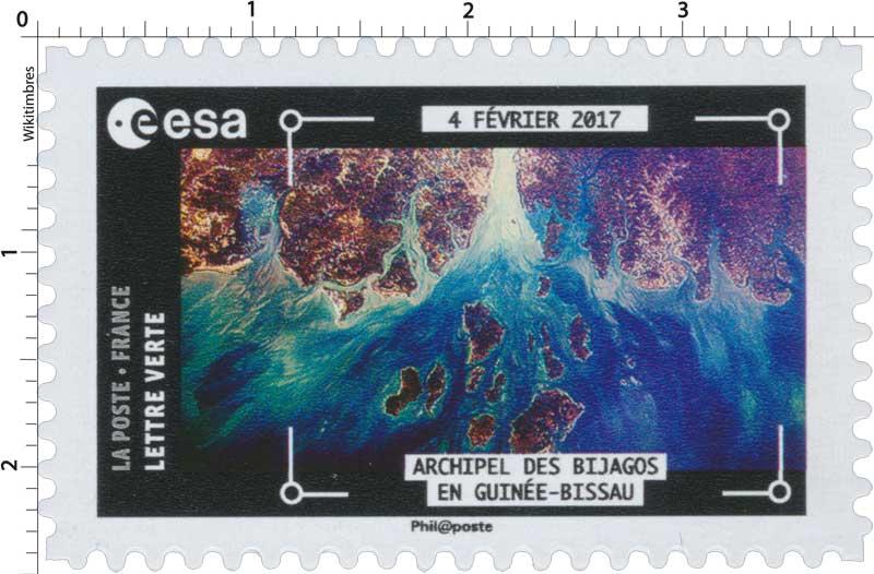 2018  ESA - 4 Février 2017 - Archipel des Bijagos en Guinée-Bissau