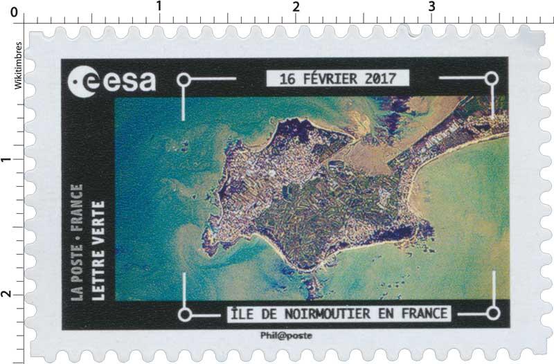 2018  ESA - 16 Février 2017 - Île de Noirmoutier en France