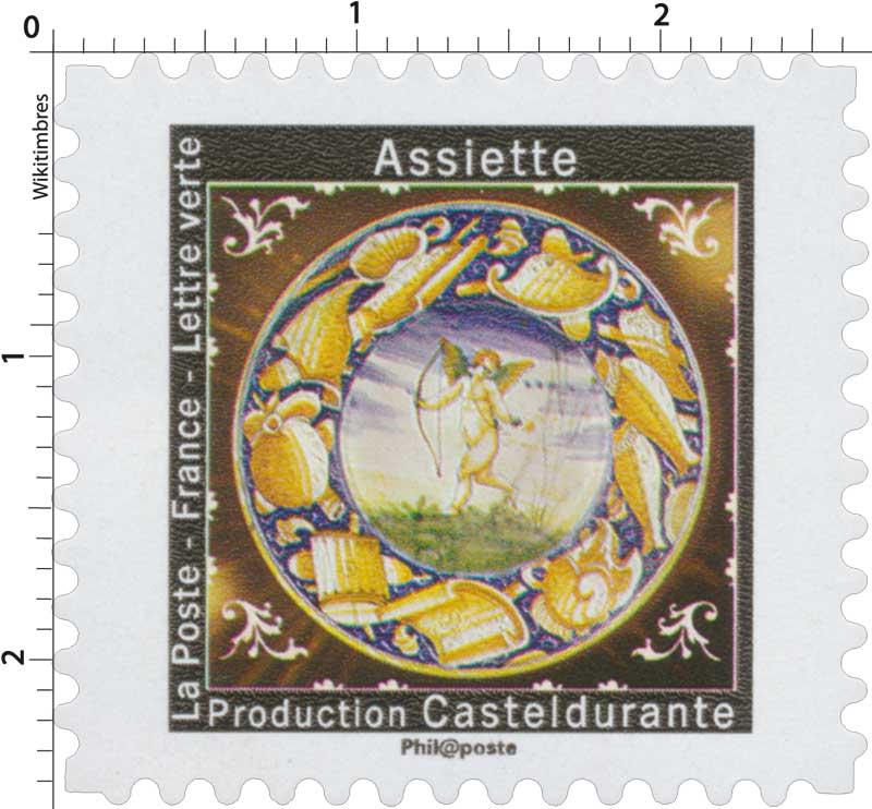 2019 Assiette - Production Casteldurante