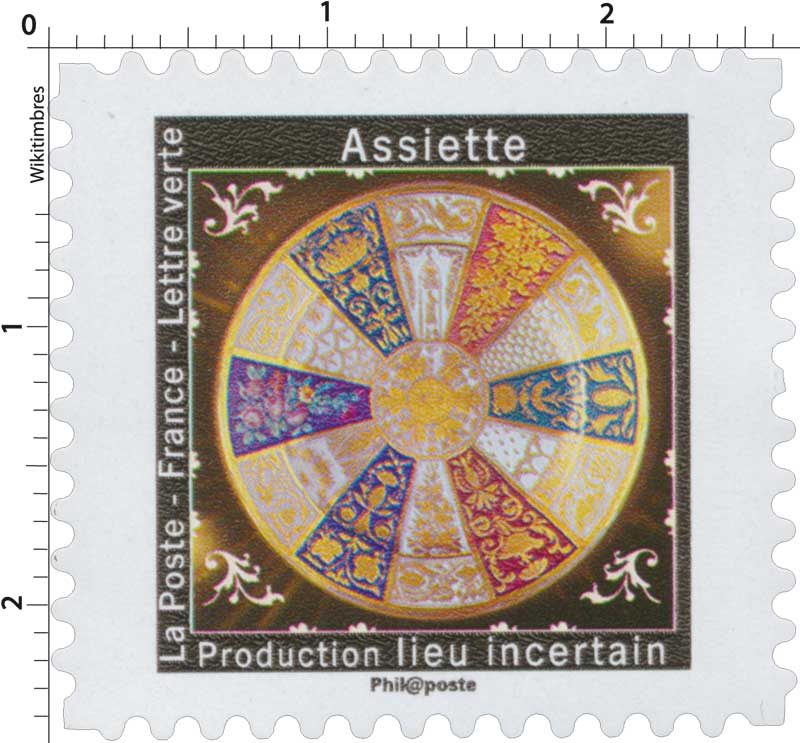 2019 Assiette - Production lieu incertain