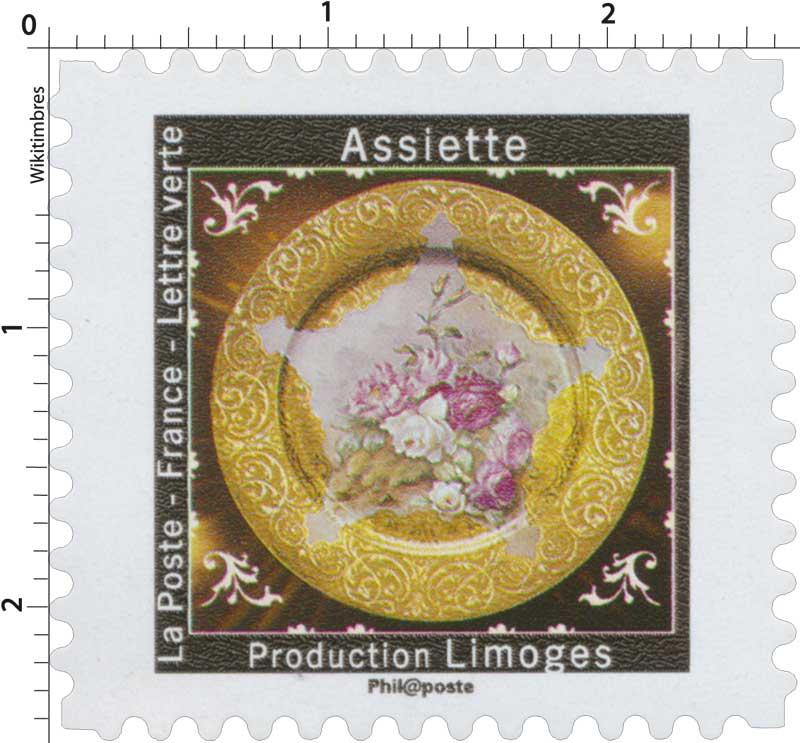 2019 Assiette - Production Limoges