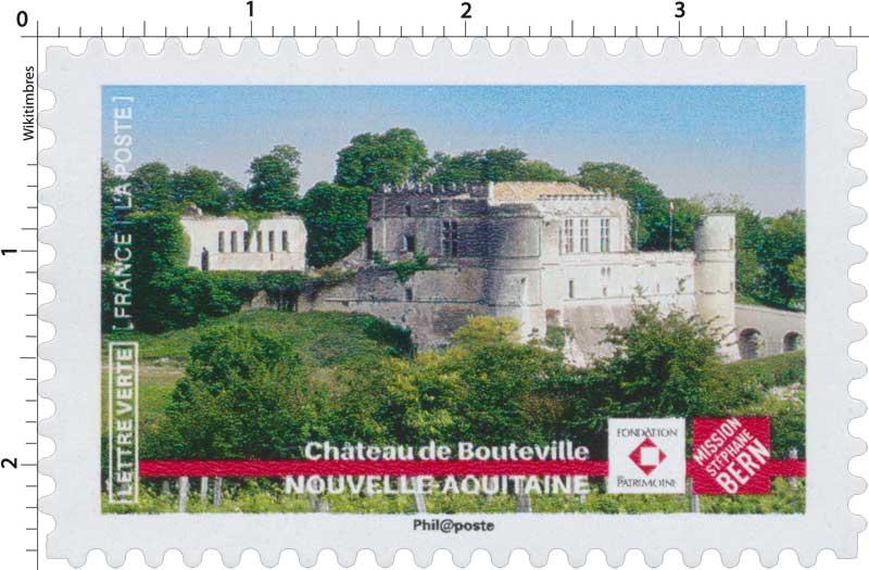 2019 CHÂTEAU DE BOUTEVILLE – NOUVELLE AQUITAINE