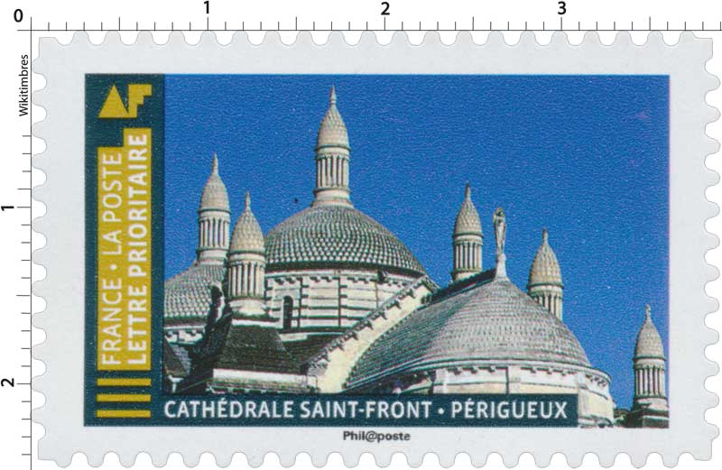 Timbre 2019 Cath 233 Drale Saint Front P 233 Rigueux Wikitimbres