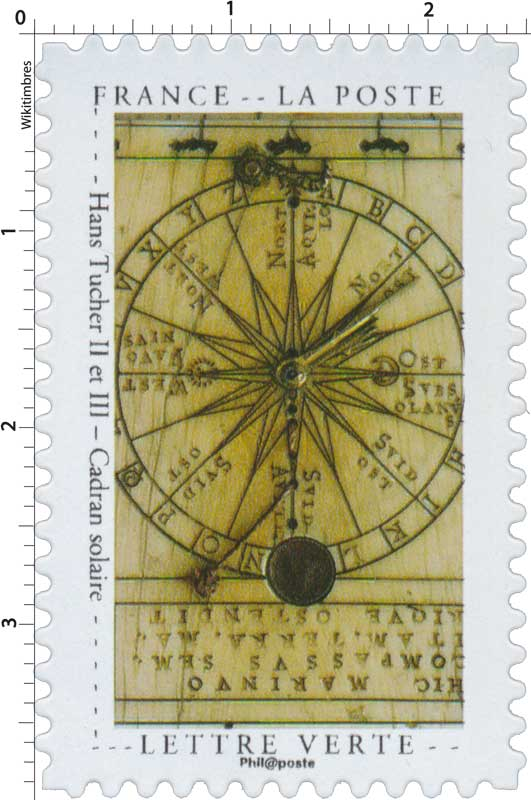 2020 Hans Tucher II et III – Cadran solaire