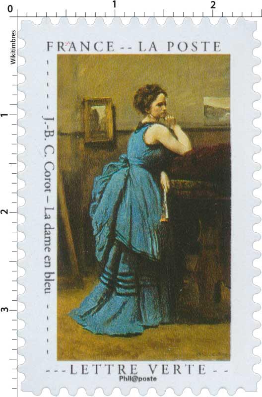 2020 J.-B. C. Corot – La dame en bleu