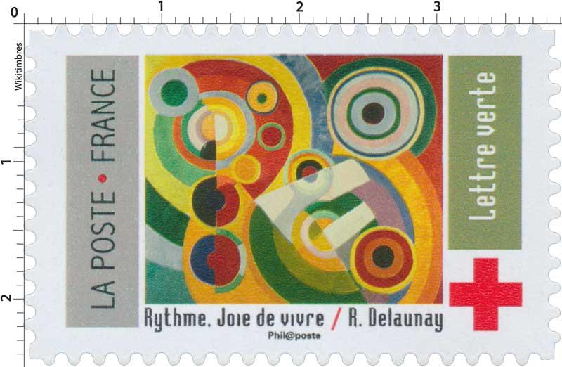 2018 Croix-Rouge française - Rythme - Joie de Vivre / R.Delaunay