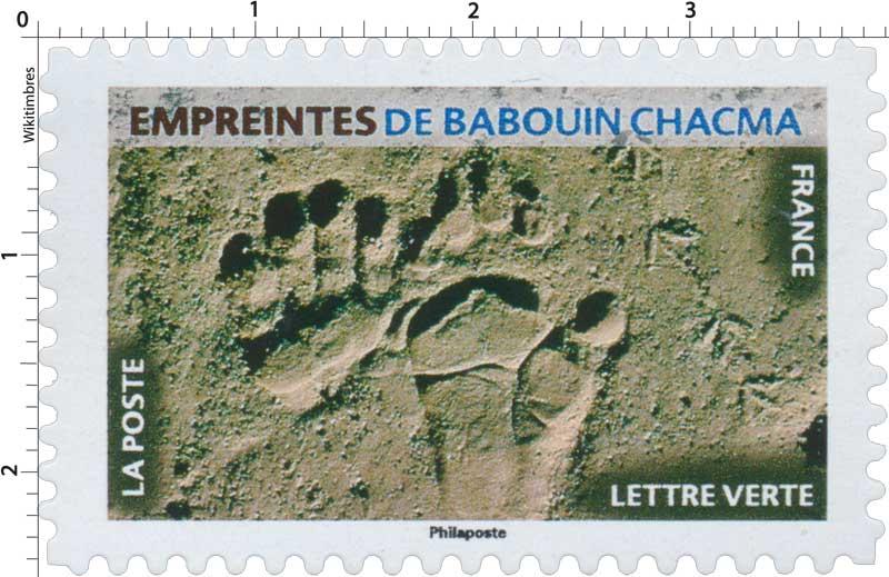 2021 Empreintes de babouin chacma