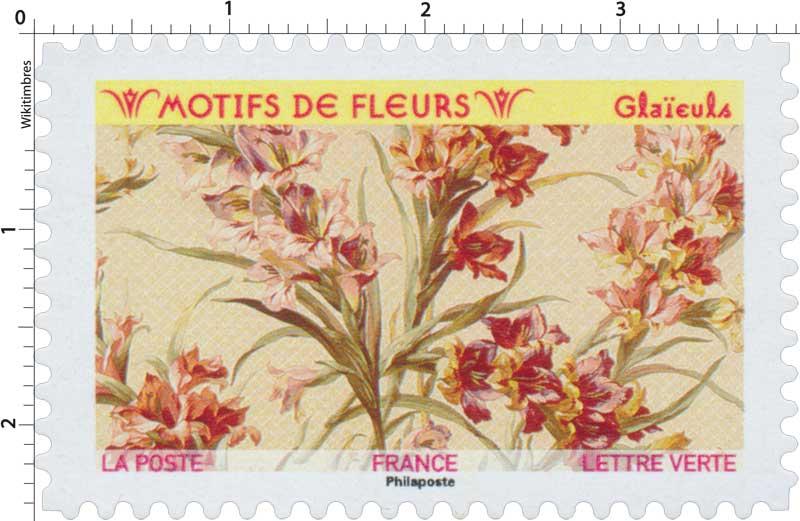 2021 Motifs de fleurs - Glaïeuls