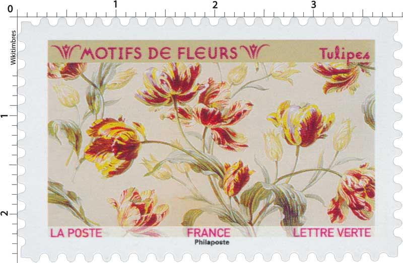 2021 Motifs de fleurs - Tulipes