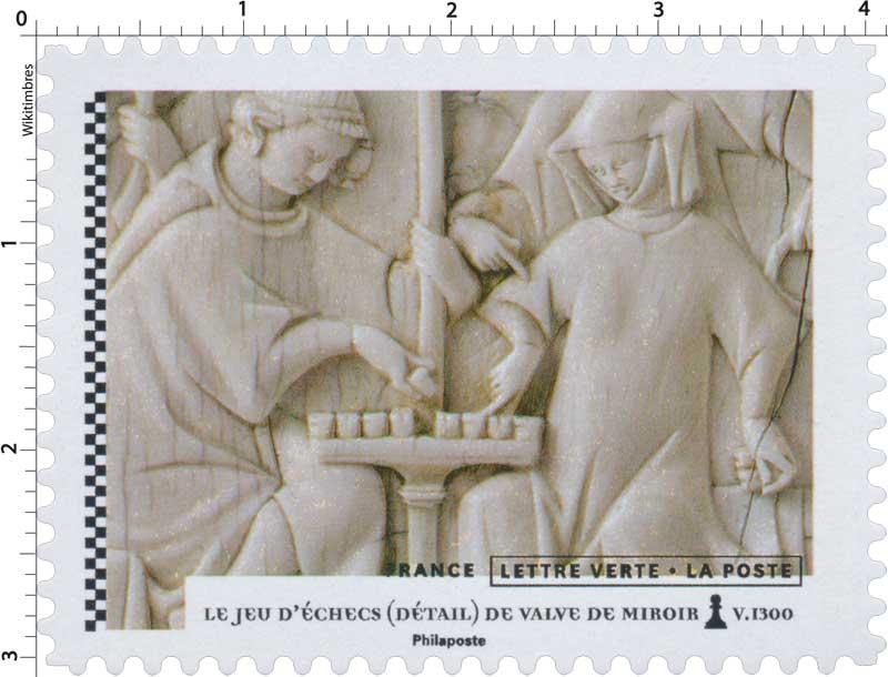 2021 Jeu d'échecs (détail) de Valve de Miroir V.1300