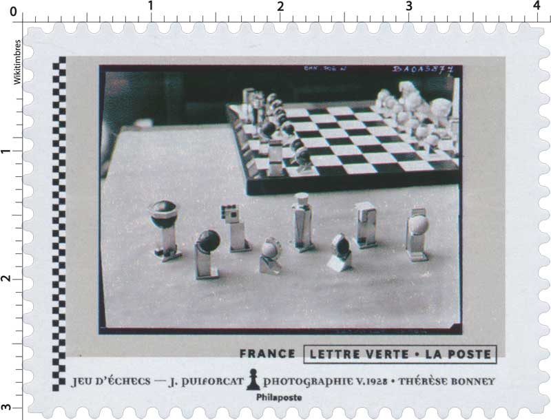 2021 Jeu d'échecs - J.Puiforcat - Photographie V.1928 - Thérèse Bonney