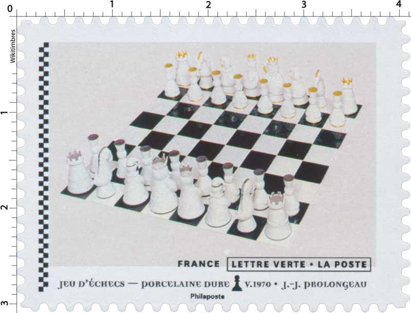 2021 Jeu d'échecs - Porcelaine dure V.1970 - J.J. Prolongeau