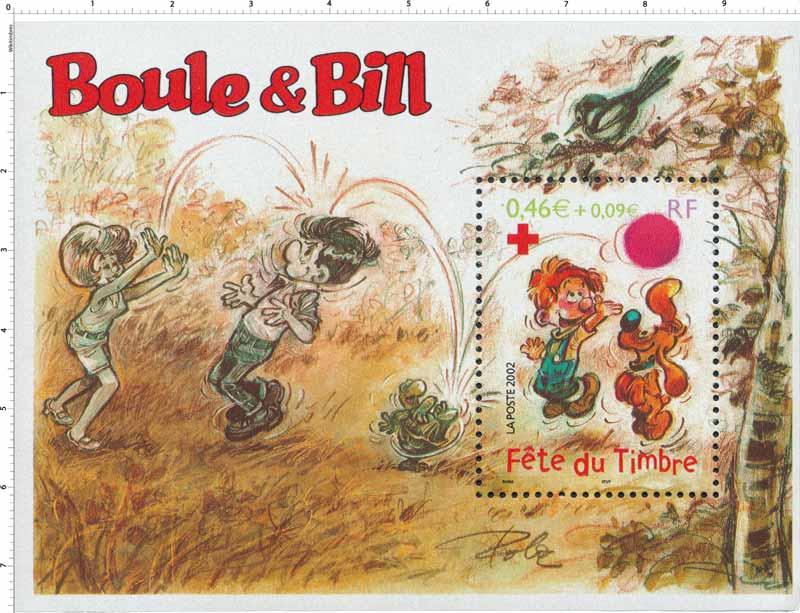 2002 Fête du timbre Boule & Bill