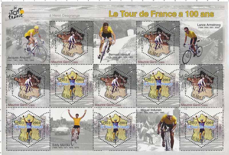 Le Tour de France a 100 ans