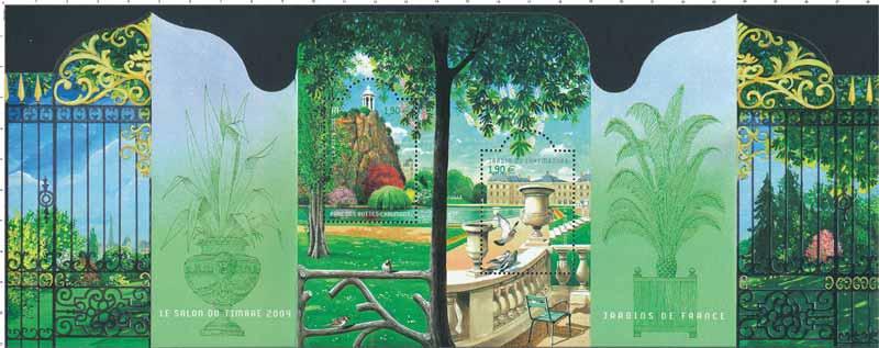 JARDINS DE FRANCE LE SALON DU TIMBRE 2004