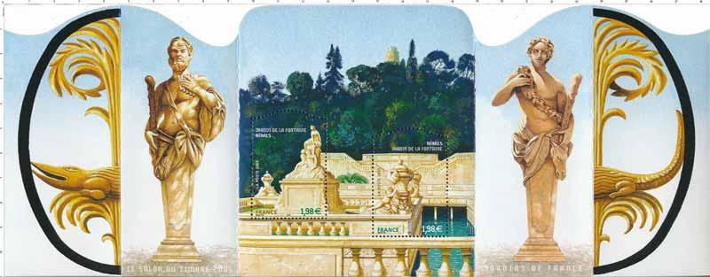 Timbre jardins de france le salon du timbre 2005 for Salon du timbre 2017