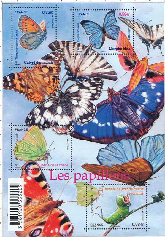 2010 Bloc Les Papillons
