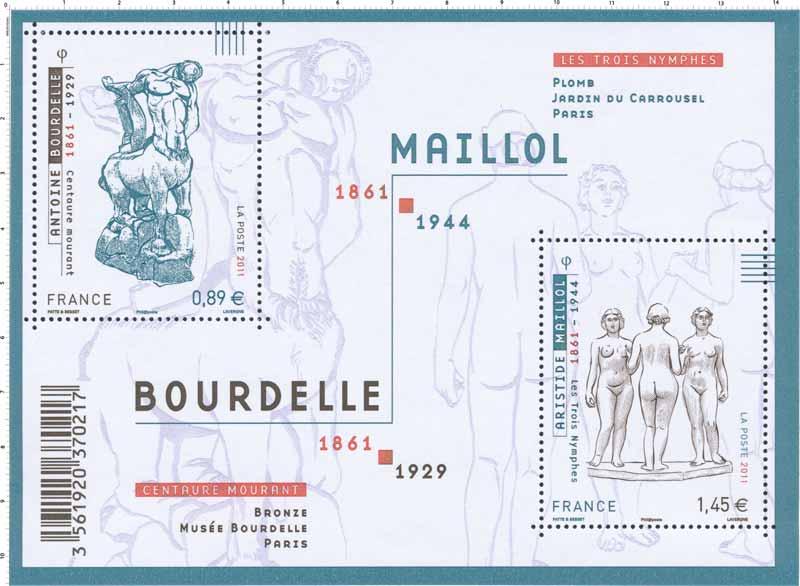 2011 MAILLOL 1861-1944 BOURDELLE 1861-1929