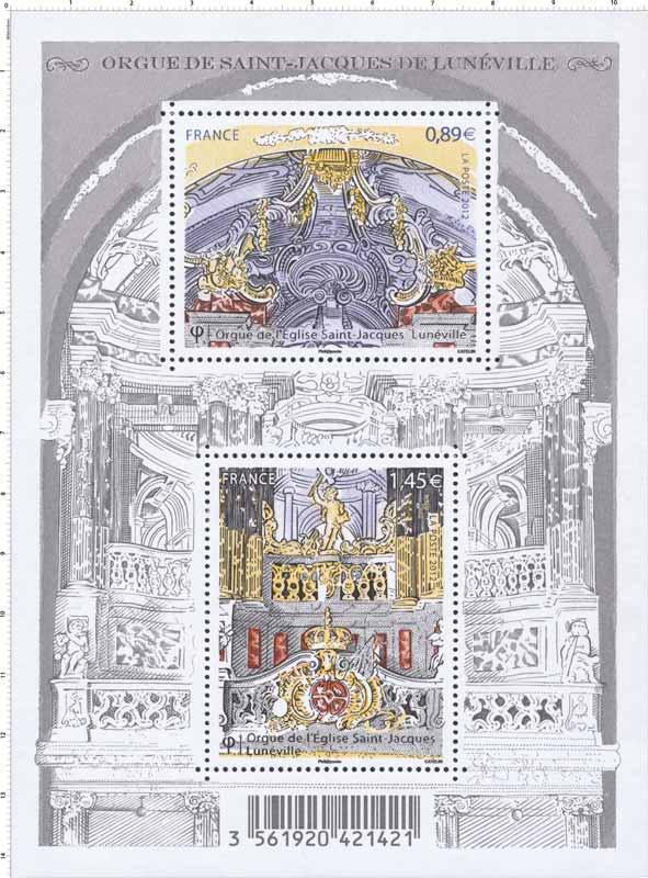 2012 Orgue de Saint-Jacques de Lunéville