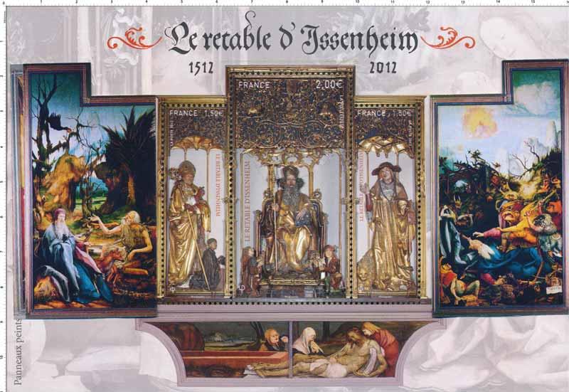 LE RETABLE D'ISSENHEIM 1512-2O12