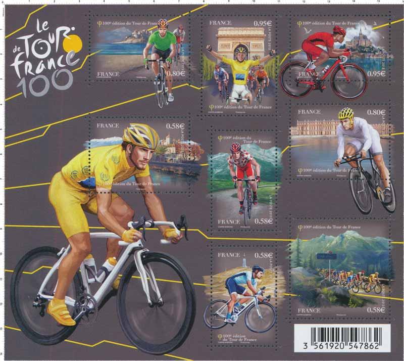 Le tour de France 100e