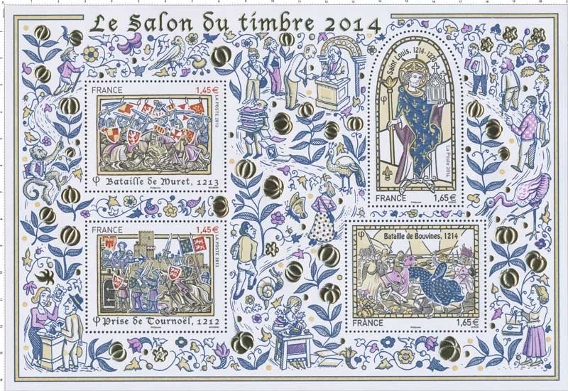 timbre 2014 le salon du timbre wikitimbres