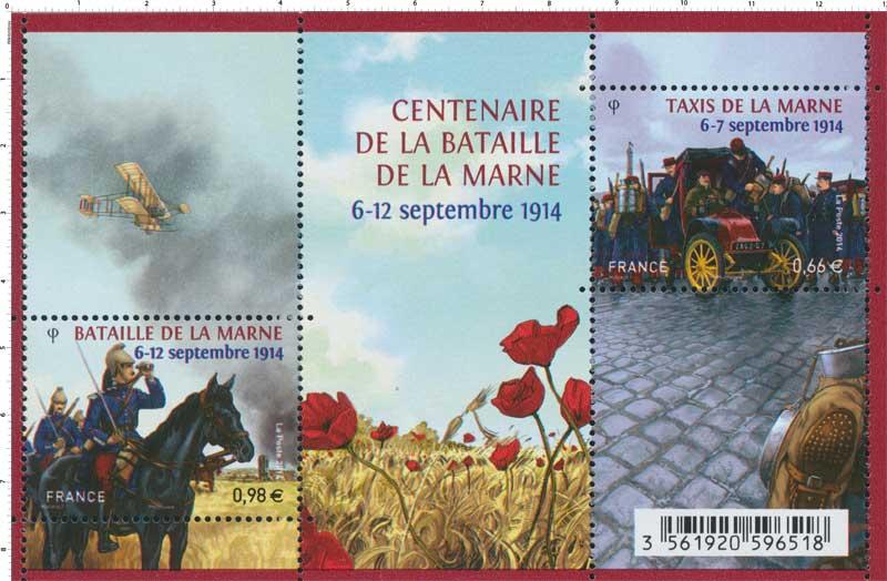 2014 CENTENAIRE DE LA BATAILLE DE LA MARNE 6-12 septembre 1914