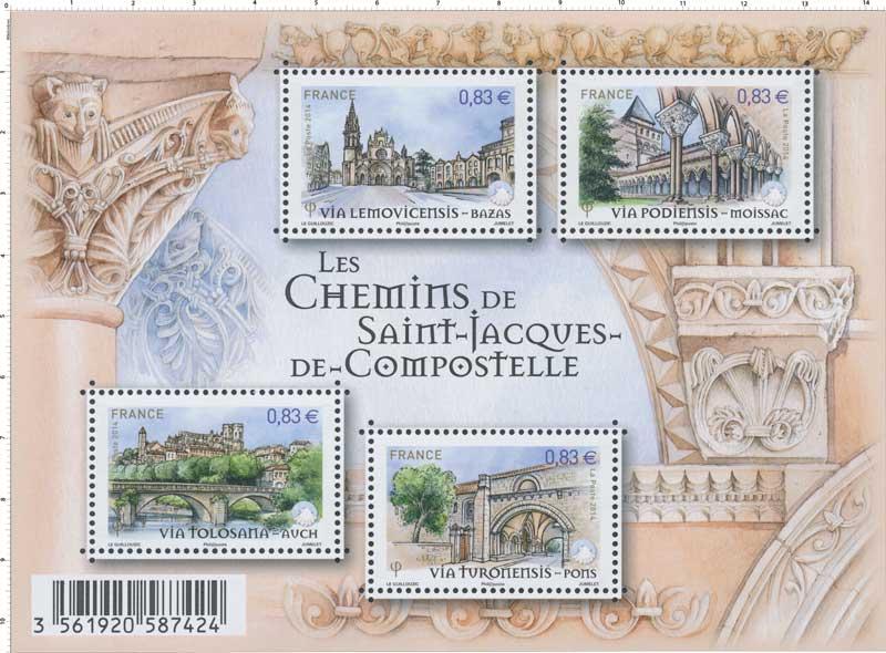 2014 Les chemins de Saint-Jacques-de–Compostelle