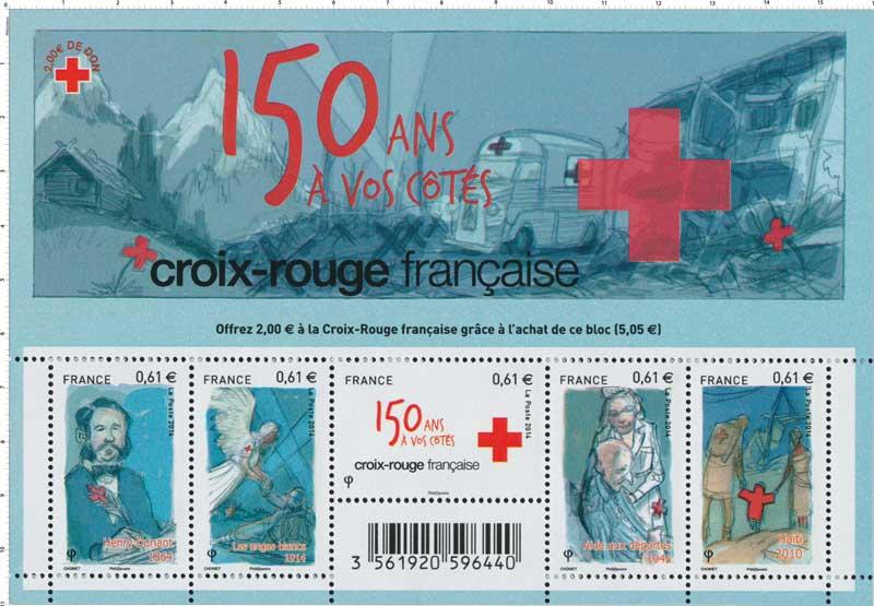 2014 Bloc Croix-Rouge française 150 ans