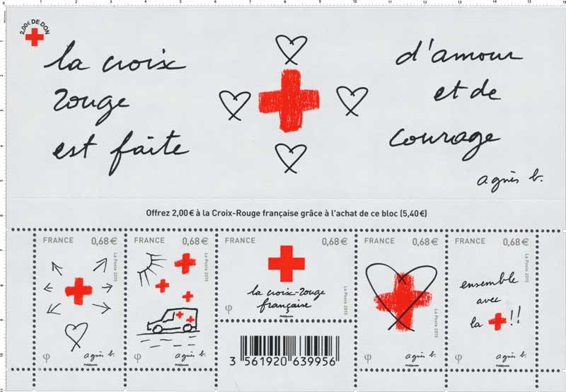 2015 La Croix Rouge est faite d'amour et de courage