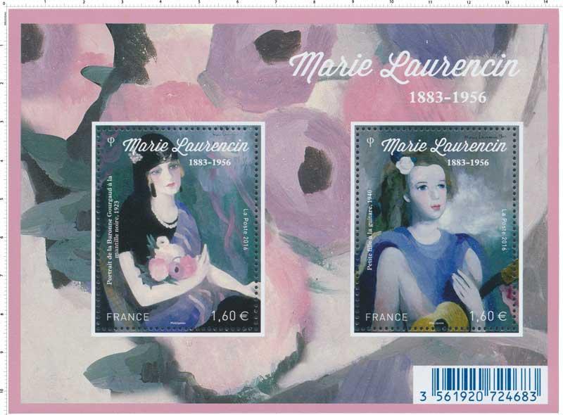 2016 Bloc Marie Laurencin 1883 -1956