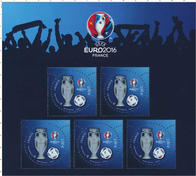 timbre 2016 uefa euro 2016 wikitimbres. Black Bedroom Furniture Sets. Home Design Ideas
