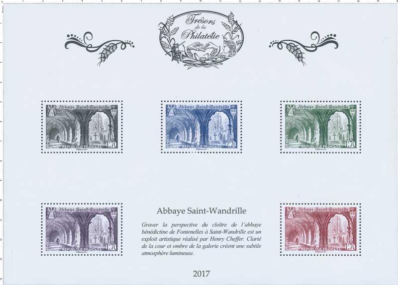 Trésors de la Philatélie 2017 - Abbaye Saint-Wandrille