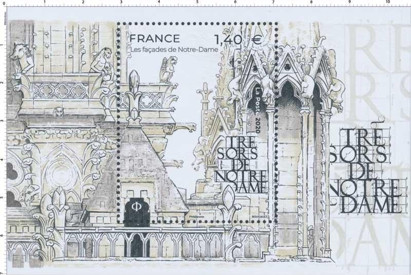 2020 Trésors de Notre-Dame - Les façades de Notre-Dame