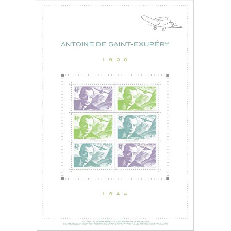 2021 Antoine de Saint-Exupéry 1900-1944