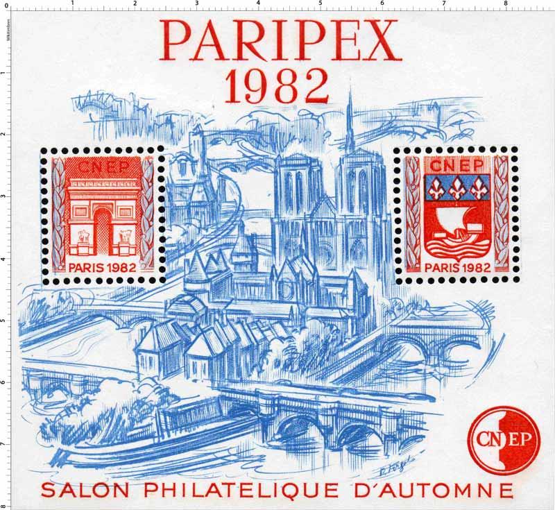 1982 Paripex Salon philatélique d'automne CNEP