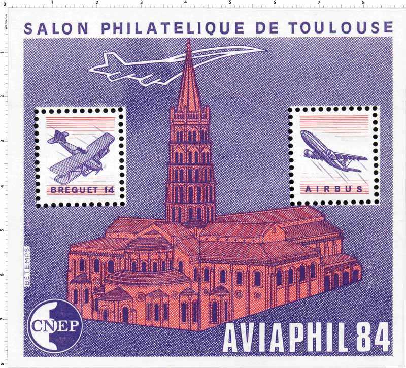 84 AVIAPHIL Salon philatélique de Toulouse CNEP