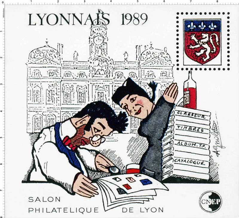 1989 Lyonnais Salon philatélique de Lyon CNEP