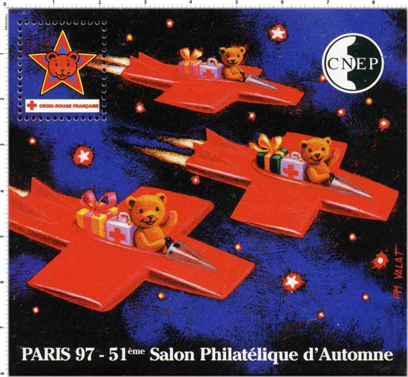 97 51e Salon philatélique d'automne Paris CNEP