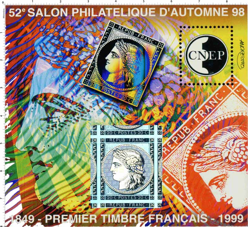 97 52e Salon philatélique d'automne Paris CNEP